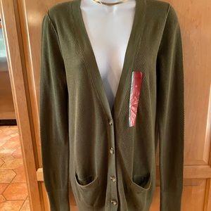 Massimo supply co. women's cardigan sweater